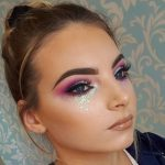A Collection of 40 Best Glitter Makeup Tutorials and Ideas for 2018