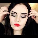 Morticia Addams Makeup Tutorial | Emma Pickles | Make up, Kostüm