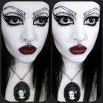 Gotische Drac Makens | makeup, hair, skin and nail's | Pinterest