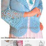 BLUE FISHNET JACKET CROCHETED #knitting #crochet #crochettutorial  #crochetaddict #womensfashion #outfits #handmade | Häkelkleidung |  Pinterest | Crochet,