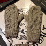 häkelhandschuhe großhandel-2018 Winter strickte Frauen-Handschuhe, die  Häkelarbeit-Handschuhe mit hängendem
