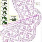 (8) Одноклассники Muster, Häkelschnur, Häkelborten, Häkelmotiv,  Häkelblumen, Häkelkragen,