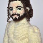 Rob waiting for his clothes (Kiwhoo) Tags: doll crochet rob yarn amigurumi  crocheted