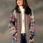 Ravelry: Long Entrelac Cardigan pattern by Vanessa Ewing