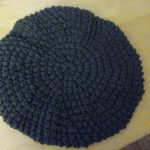 """Crochet Beret with Bow"""". Ich habe die Anleitung ein wenig ausgeweitet  und die Schleife weggelassen da es mir so einfach besser gefällt."""