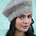 Beautiful Crochet Beret: free pattern