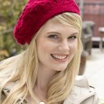 Bridgettes Baskenmütze #Häkeln #Soft #RedHeart