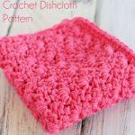Free Primrose Stitch Crochet Dishcloth Pattern! Love how this dishcloth  looks! Stricken Und Häkeln
