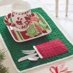 Crochet Pattern ~ CHRISTMAS POCKET PLACEMAT ~ Instructions | Crafts,  Needlecrafts & Yarn, Crocheting & Knitting | eBay!