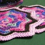 Round Ripple Potholder Crochet Pattern - PDF Download Only - Wee Designs