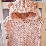 Häkeln Sie Hooded Poncho Pullover, Muster von My Little Violin #hakeln  #hooded #