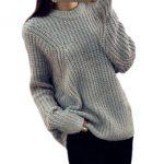 häkeln damen jumper Rabatt Winter Oansatz Lose Beiläufige Frauen Pullover  Batwing Pullover Oversize Jumper Pull Crochet