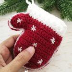 Häkeln Sie Handschuhe Ornament Ornament