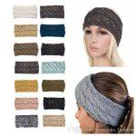 Großhandel Häkeln Sie Stirnband Wolle Häkeln Stirnband Stricken Haarband  Winter Warme Stirnbänder Mädchen Headwrap Ohrenschützer Von  Unicorns_fashion,