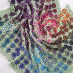Häkeln Sie Muster Monets Garten werfen Afghan von FeltedButton