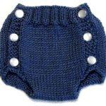 Diaper Cover Knitting Pattern - PDF - Small - Instant Download | Knit |  Stricken, Baby stricken, Häkeln