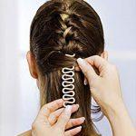 Durch das Flechten von Haaren   können Sie mondän aussehen