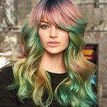 Haarfarbe: Unicorn Hair