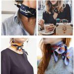 großhandel seide haar schals Rabatt Silk Schals 2018, Art- und  Weiseeinfache einfarbige Schals,