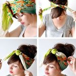 How to tie a headscarf | crafty | Pinterest | Haar schals, Kopftuch-kurs  and Haar ideen