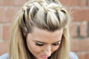 Klassische und süße Frisur Ideen für lange Haare   Hair Inspiration