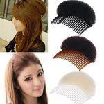 ILOVEDIY 2X Haarpflege Hochsteckfrisur Haar Former Kamm Haare Erhöhen  Haarstyling Zubehör Frisurenhilfe (10.5cm,