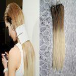 Großhandel Ombre Micro Loop Einfache Ringe / Perlen Haarverlängerungen 1g  100g 6/613 Blonde Menschenhaar Micro Bead Extensions Von Rxdqqqq, $29.05  Auf De.