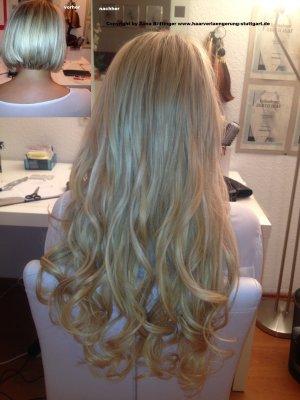 Haarverlängerungen für kurze   Haare – neue Stilaussage