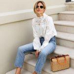 Weiße Häkel Bluse kombinieren (14 Kombinationen) | Damenmode | Lookastic