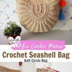 Häkeln Seashell Bag Pattern von Häkeln für Sie. #Krochet #Kreis