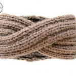 Infinity Headband Knitting Pattern - Ear Warmer Knitting Pattern