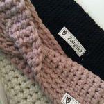 Stirnband häkeln | Häckeln | Crochet, Knitting und Crochet patterns