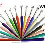 Knit Pro Waves Häkelnadeln Set 19x Häkelnadel alle Stärken je 1x