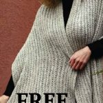 This simple Crochet Classic Shawl is a great weekend project for