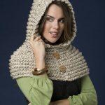 CROCHET PATTERN Cowl Capelet Scarf Riding Hood Capelet | Capelet