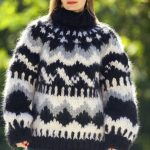 Bulky very thick hand knit Icelandic sweater, unisex handgestrickte Nordic  pullover by SuperTanya
