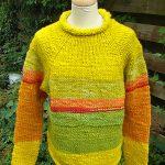 Pullover 160,– € 900g gelb