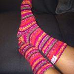 Pin It Es geht nichts über handgestrickte Socken