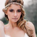 Bridal headpiece - delicate boho style crystal - Karena u2013 KEZANI
