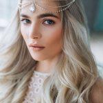 Wedding Chain Headpiece, Bridal Hair Jewelry, Chain Head Dress, Bohemian  Luxe Headchain, Boho Bridal headpiece, Bohemian Headpiece by Bianoco on Etsy