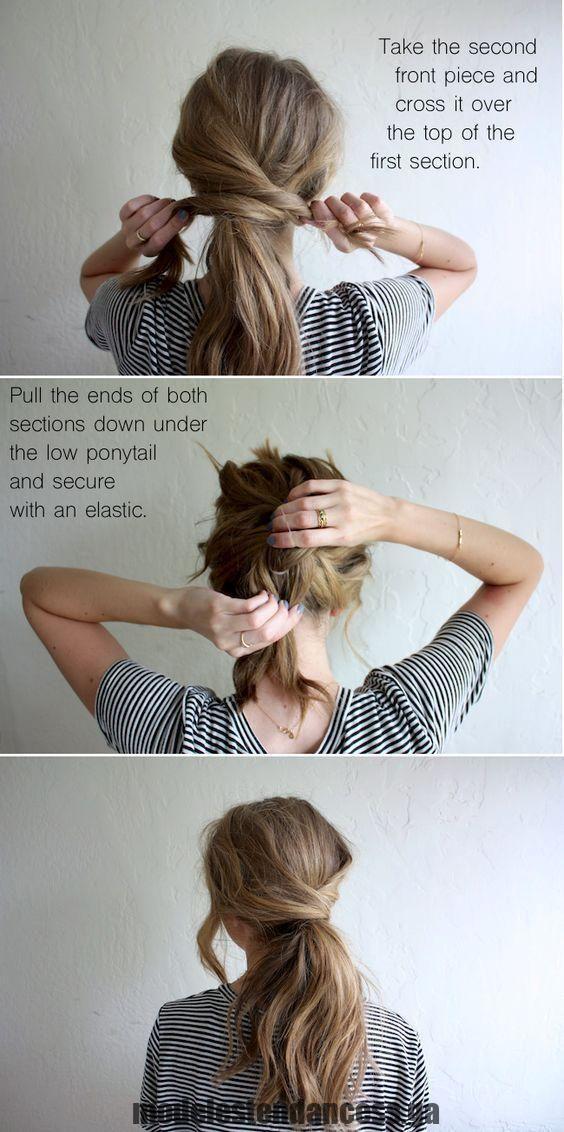 Wunderschöne Heimkehrfrisuren für alle Haarlängen Faux Hawk Hochsteckfrisur  , #haarlangen #hair