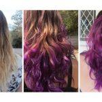 Henna King- wild streaks henna colour. www.hennaking.com Purple hair