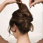 hochsteckfrisur lange haare anleitung u2013 Haar Frisuren Dutt