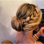 Prom geflochtene Hochsteckfrisuren für lange Haare - Neueste Haar pin