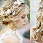 Frisur für langes Haar Hochzeit -45 Ideen für Ihren Tag J - Deavita