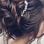 Schöne Hochsteckfrisur Hochzeitsfrisur für langes Haar