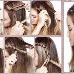 Frisur Ideen für mittlere Haare - Frisuren