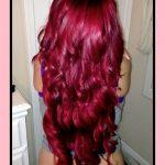 Magenta rote Haarfarbe Ideen im Jahr 2018 #haarfarbe #ideen #magenta