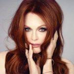 Glamouröse rote Haarfarbe diesen Winter 12