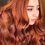 Ginger Mermaid Hair, Ingwer Meerjungfrau Haar